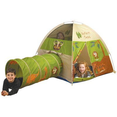 Pacific Play Tents Jungle Safari Play Combination Tunnel u0026 Reviews | Wayfair  sc 1 st  Wayfair : play tunnel and tent - memphite.com