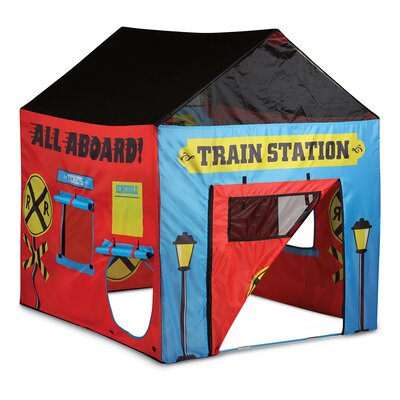 sc 1 st  Wayfair & Pacific Play Tents Train Station House Play Tent u0026 Reviews | Wayfair