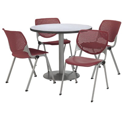 KFI Seating Round Cafeteria Table and Chair Set Reviews Wayfairca