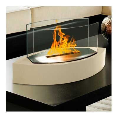 Anywhere Fireplaces Anywhere Lexington Bio. Anywhere Fireplaces Anywhere  Lexington Bio Ethanol Tabletop Fireplace. - Outdoor Tabletop Fireplace. White Portable Indoor Outdoor Patio