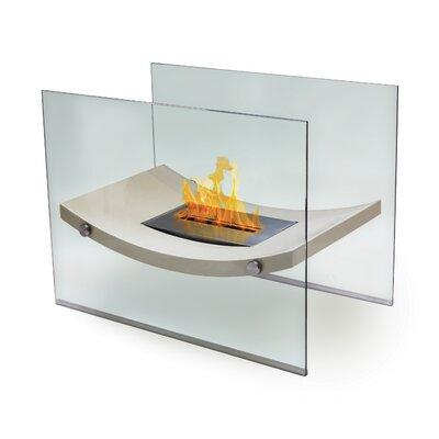 Anywhere Fireplaces Broadway Glass Bio Ethanol Fireplace