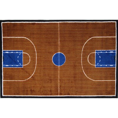 Superior Fun Rugs Supreme Basketball Court Kids Rug U0026 Reviews   Wayfair
