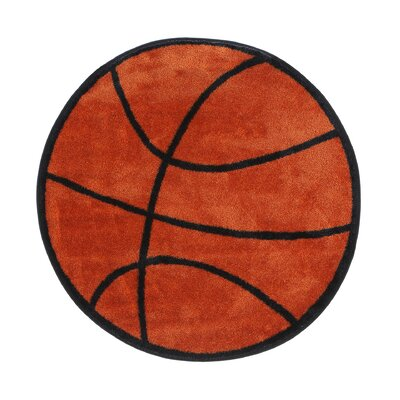 Marvelous Fun Rugs Fun Shape Basketball Area Rug U0026 Reviews   Wayfair