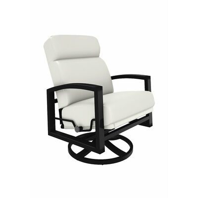 Tropitone Lakeside Swivel Lounge Rocking Chair with Cushions Youll ...