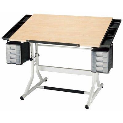 craftmaster ii wood drafting table u0026 reviews wayfair