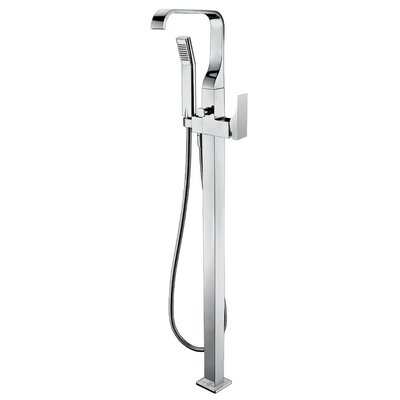 Alfi Brand Single Handle Floor Mount Tub Filler Mixer With Hand Held Shower  Head U0026 Reviews | Wayfair