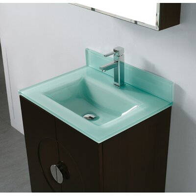 Madeli tempered glass countertop bathroom sink reviews for Tempered glass countertop