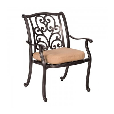 Woodard New Orleans Patio Dining Chair With Cushion | Wayfair