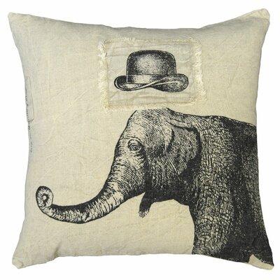 sugarboo designs hat and elephant linen throw pillow u0026 reviews wayfair