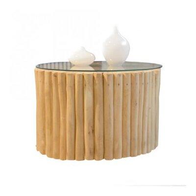 Tikamoon bois flotte coffee table for Bois flotte vase