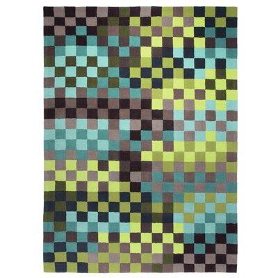 Esprit Pixel Hand Tufted Green/Blue Area Rug U0026 Reviews | Wayfair.co.uk