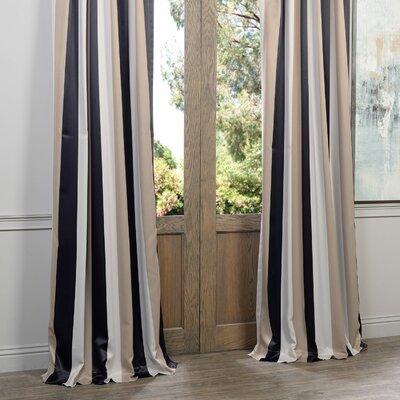 Half Price Drapes Georgetown Blackout Thermal Single Curtain Panel ...