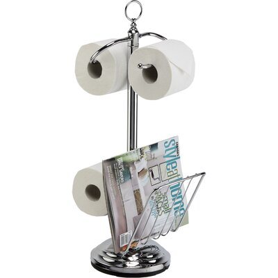 Better Living Products The Toilet Caddy Free Standing Toilet Paper