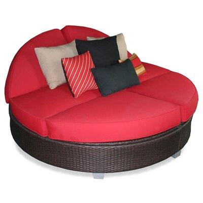 Patio Heaven Signature Round Double Chaise Lounge U0026 Reviews | Wayfair