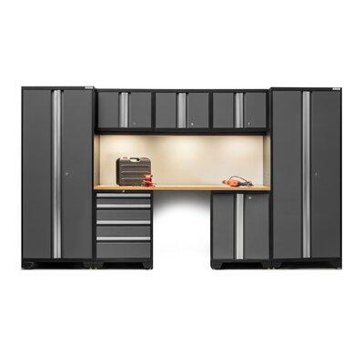 newage products bold 3.0 series 8 piece garage storage cabinet set