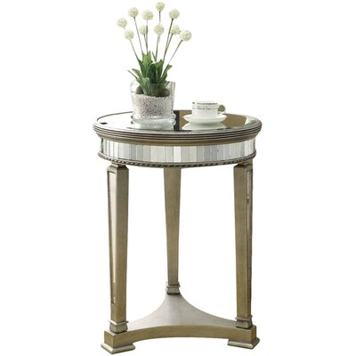Monarch Specialties Inc. Mirrored End Table U0026 Reviews | Wayfair