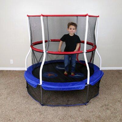 skywalker seaside adventure 5u0027 trampoline with enclosure u0026 reviews wayfair