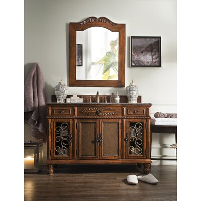 "Bathroom Vanities Tucson james martin furniture classico 53"" single cherry bathroom vanity"