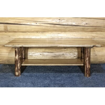 loon peak tustin unique cabin coffee table & reviews | wayfair