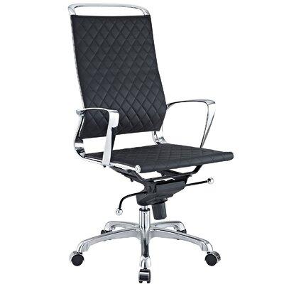 modway vibe high-back desk chair & reviews | wayfair