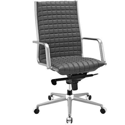modway pattern high-back desk chair & reviews | wayfair