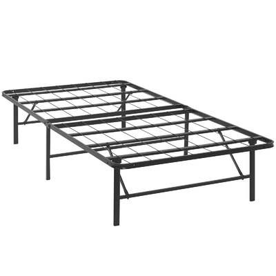 modway horizon steel bed frame reviews wayfair - Steel Bed Frames