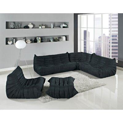 Modway Waverunner 5 Piece Living Room Set U0026 Reviews | Wayfair Part 72