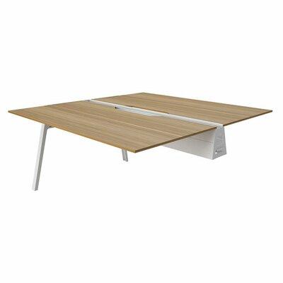 "steelcase bivi 28.5"" h desk bridge & reviews | wayfair"