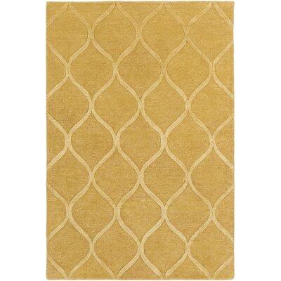Artistic Weavers Urban Cassidy Hand Tufted Gold Area Rug U0026 Reviews | Wayfair