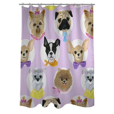 Attractive One Bella Casa Love From NYC 10 Dogs Shower Curtain | Wayfair.ca