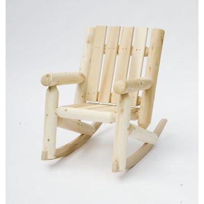 Furniture Living Room Furniture ... Wood Rocking Chairs Rustic Cedar ...