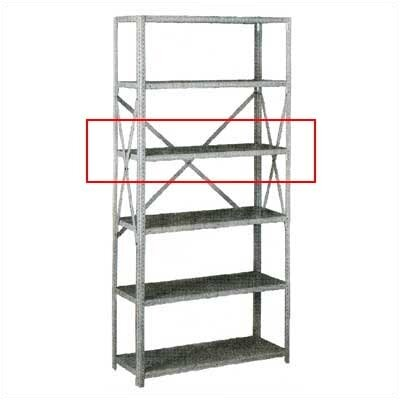 tennsco extra shelf for q line box formed shelving. Black Bedroom Furniture Sets. Home Design Ideas