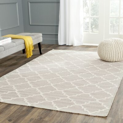 Safavieh Teppich safavieh dhurrie marrakech wool ivory area rug reviews wayfair co uk