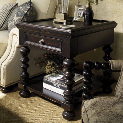 tommy bahama home kingstown explorer end table with storage u0026 reviews wayfair