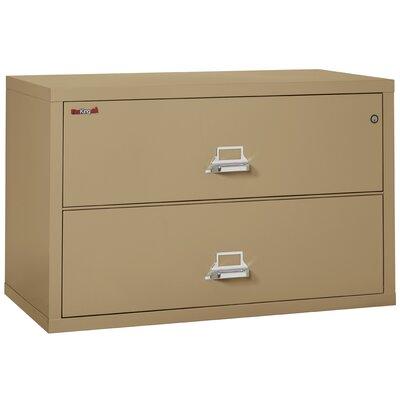fireking fireproof 2 drawer lateral file cabinet you ll wayfair