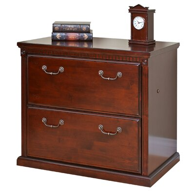 kathy ireland home by martin furniture huntington club 2drawer lateral file cabinet u0026 reviews wayfair