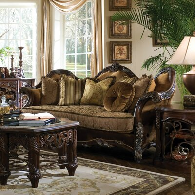 Michael Amini Essex Manor Living Room CollectionReviewsWayfair