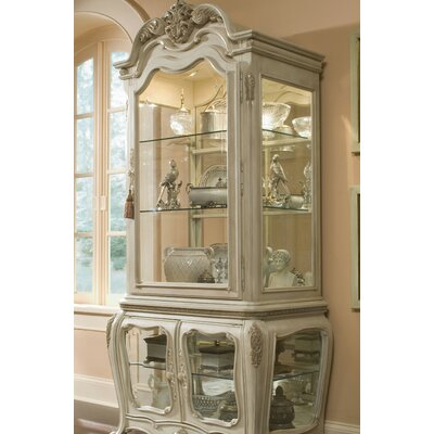 Michael Amini Lavelle Lighted China Cabinet & Reviews   Wayfair