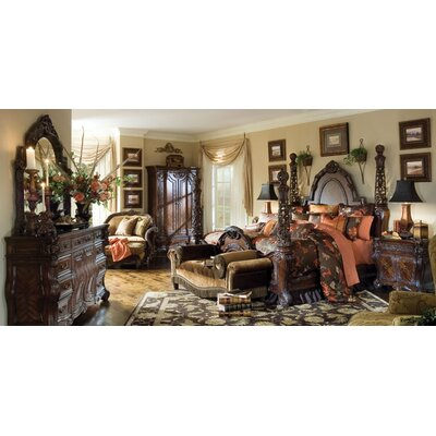 Michael Amini Essex Manor Four Poster Customizable Bedroom Set   Reviews    WayfairMichael Amini Essex Manor Four Poster Customizable Bedroom Set  . Four Poster Bedroom Sets. Home Design Ideas