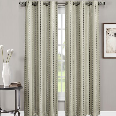 innovative textile solutions ron chereskin diamond stripe semisheer curtain panels u0026 reviews wayfair