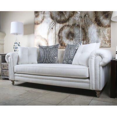 Nice South Cone Home Hanover Tufted Linen Chesterfield Sofa U0026 Reviews | Wayfair