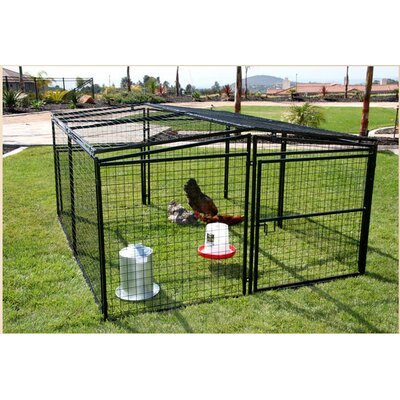 rugged ranch universal welded wire dog penchicken coop u0026 reviews wayfair