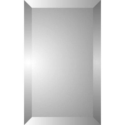 Zaca spacecab 16 x 26 recessed beveled medicine cabinet for Zaca bathroom cabinets