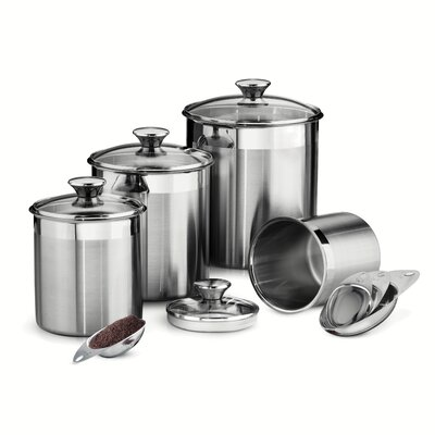 Gourmet  Piece Kitchen Canister Set By Tramontina