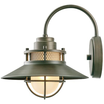 Globe Electric Company Liam 1 Light Outdoor Wall Sconce Reviews Wayfair