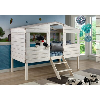 Donco Kids Tree House Twin Low Loft Bed Amp Reviews Wayfair