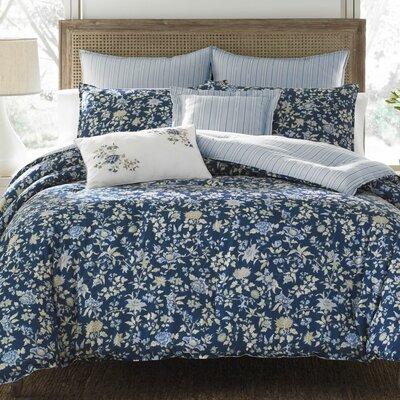 laura ashley home stella 100 cotton comforter set by laura ashley home wayfair