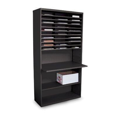 marvel office furniture mail sorter workstation with adjustable