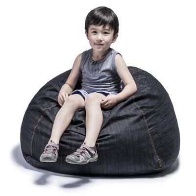 - Jaxx Denim Kids Club 2.5' Bean Bag Chair & Reviews Wayfair