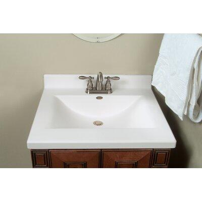Imperial Center Wave Bowl 25 Single Bathroom Vanity Top Reviews